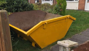 Commercial Builders Skip Hire in Clifton, Nottingham