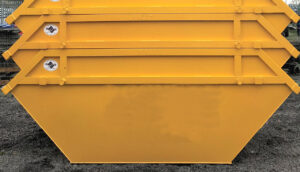 Open Top 4 Yard Skips Long Bennington